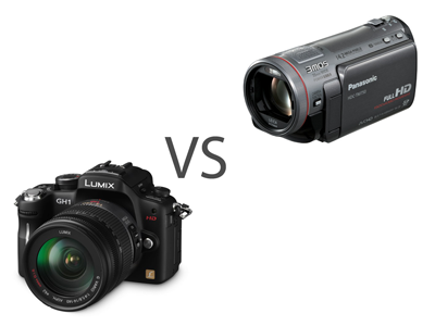 Digital SLR vs Camcorder video - which is the best for you