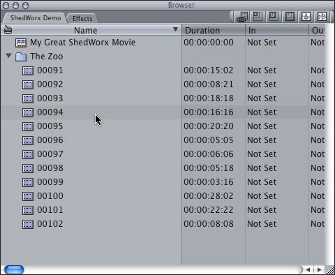 Moving from iMovie to Final Cut Express | ShedWorx