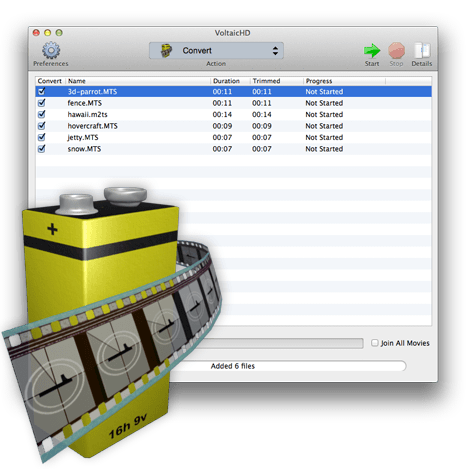 VoltaicHD for Mac Image